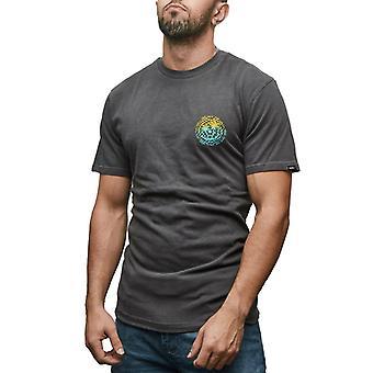 Vans T-Shirts Man Vintage Checker P Kleur Zwart