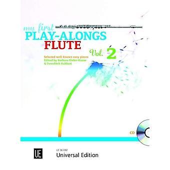 Minha primeira banda de play-alongs 2 diversificada para flauta com CD