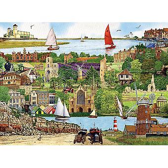 Ravensburger Escape to Norfolk (500 Pieces)