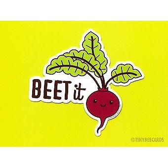 Beet It - Vinyl Sticker