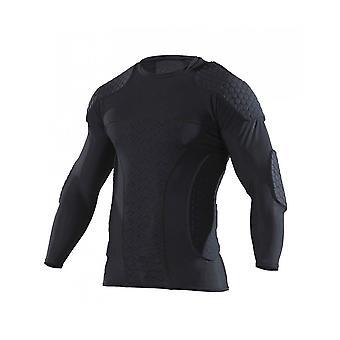 McDavid 7737 Long Sleeve Goalkeeper Shirt Soccer Football With Rib Padding