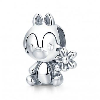 Sterling Silver Charm Prince Squirrel - 7127