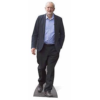 Jeremy Corbyn cartolina recorte / cartaz / pé