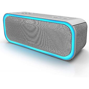 Caraele Doss Portable Bluetooth Speaker With Light Effects, Ipx5 Waterproof, 20w Wireless Speaker, 20h Battery Life, Tws Technology, Usb Port, Aux And