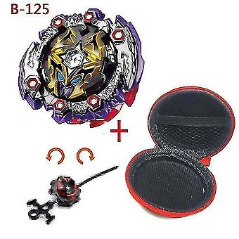 Spinning tops 5 beyblade burst sparking turbo b48 launcher  metal top gyro blade blade spinning fight toys b125
