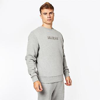 Everlast Mens Embroidered Crew Neck Long Sleeve Sweatshirt Sweater Pullover