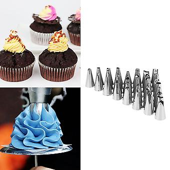 Pastry Fondant Cake Decorating Sugar Craft Piping 52 X Icing Nozzle Tips Set