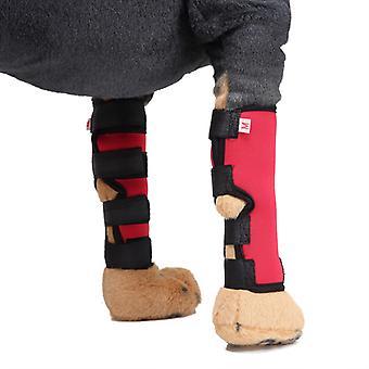 Mimigo Stützstange Verstärkung für Haustier Hund GelenkStütze Ellbogen, Welpe Hund Bein Handgelenk Schutz Kniepolster Chirurgische Verletzung Bandage Wrap Protector
