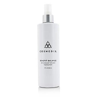Cosmedix Benefit Balance Antioxidant Infused Toning Mist - Salon Size - 360ml/12oz