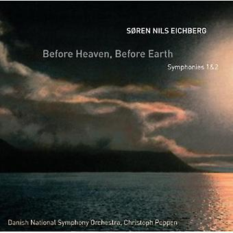 Soren Nils Eichberg - S Ren Nils Eichberg: Before Heaven, Before Earth [CD] USA import