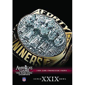 NFL America's Game: 1994 49Ers (Super Bowl Xxix) [DVD] USA import