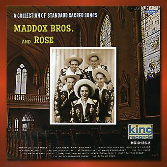 Maddox Brothers & Rose - Maddox Brothers & Rose: Collection of Standard Sacred Songs [CD] USA import