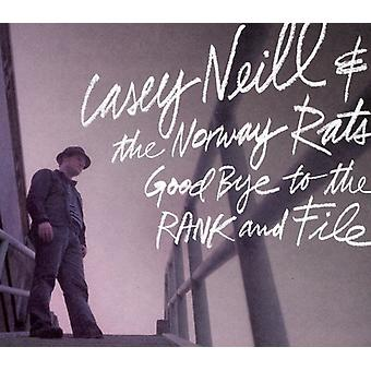 Casey Neill & the Norway Rats - Goodbye to the Rand & File [CD] USA import