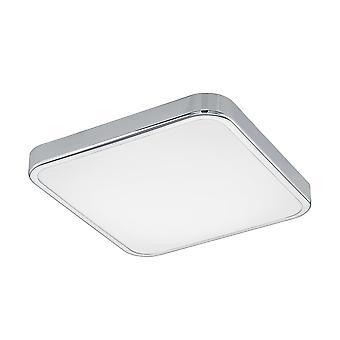 Eglo Manilva Chrome LED Flush Light