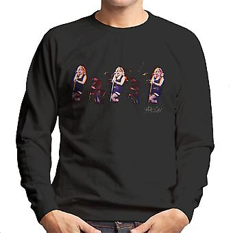 Debbie Harry Blondie Live NY Palladium 1978 Men's Sweatshirt