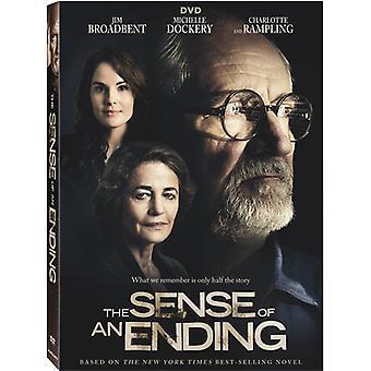 Känslan av ett slut [DVD] USA import