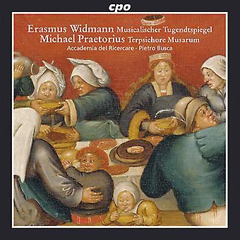 Praetorius, Michael / import Accademia Del Ricercare - danses fougueux des USA du XVIIe siècle [CD]