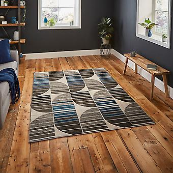 Pembroke Rugs Hb33 In Grey And Blue