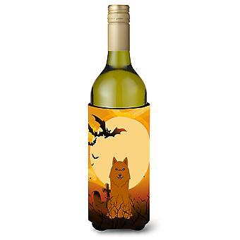 Perro de osos de Carelia Halloween botella de vino Beverge aislador Hugger