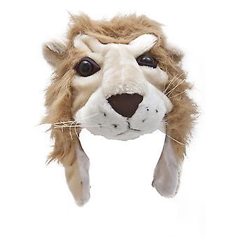 Kinder/Kids Unisex Supersoft tierische Winter Thermal Trapper Hut (Affe, Katze oder Löwe)