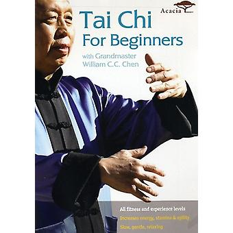 Tai Chi for Beginners with Grandmaster Chen [DVD] USA import