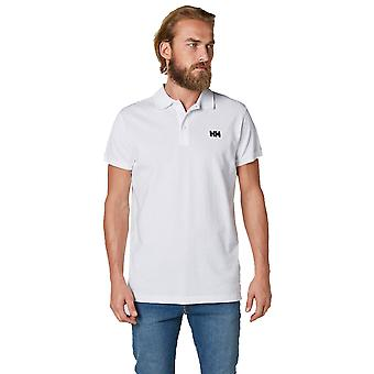 Helly Hansen Mens Logo Transat Casual Short Sleeve Cotton Polo Shirt