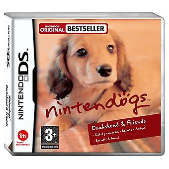 Nintendogs Miniature Dachshund Friends (Nintendo DS) - Neu
