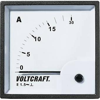 جهاز قياس تماثلي محمول من طراز VOLTCRAFT AM-72X72/15A AM-72X 72/15 A 15 A