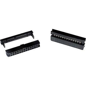 PV10RM2 Pin-kontakt Kontaktavstand: 2 mm Totalt antall pinner: 10 Nei. av rader: 2 1 stk(er) skuff