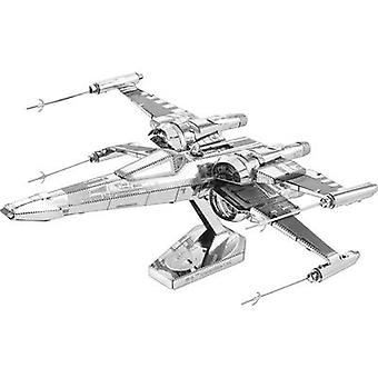 Modelo kit Metal tierra Star Wars Poe Dameron´s X-Wing Fighter
