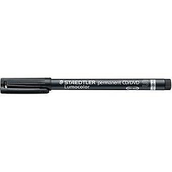 Staedtler Lumocolor permanent CD/DVD DRY SAFE 310 CDS-9 CD/DVD marker Black