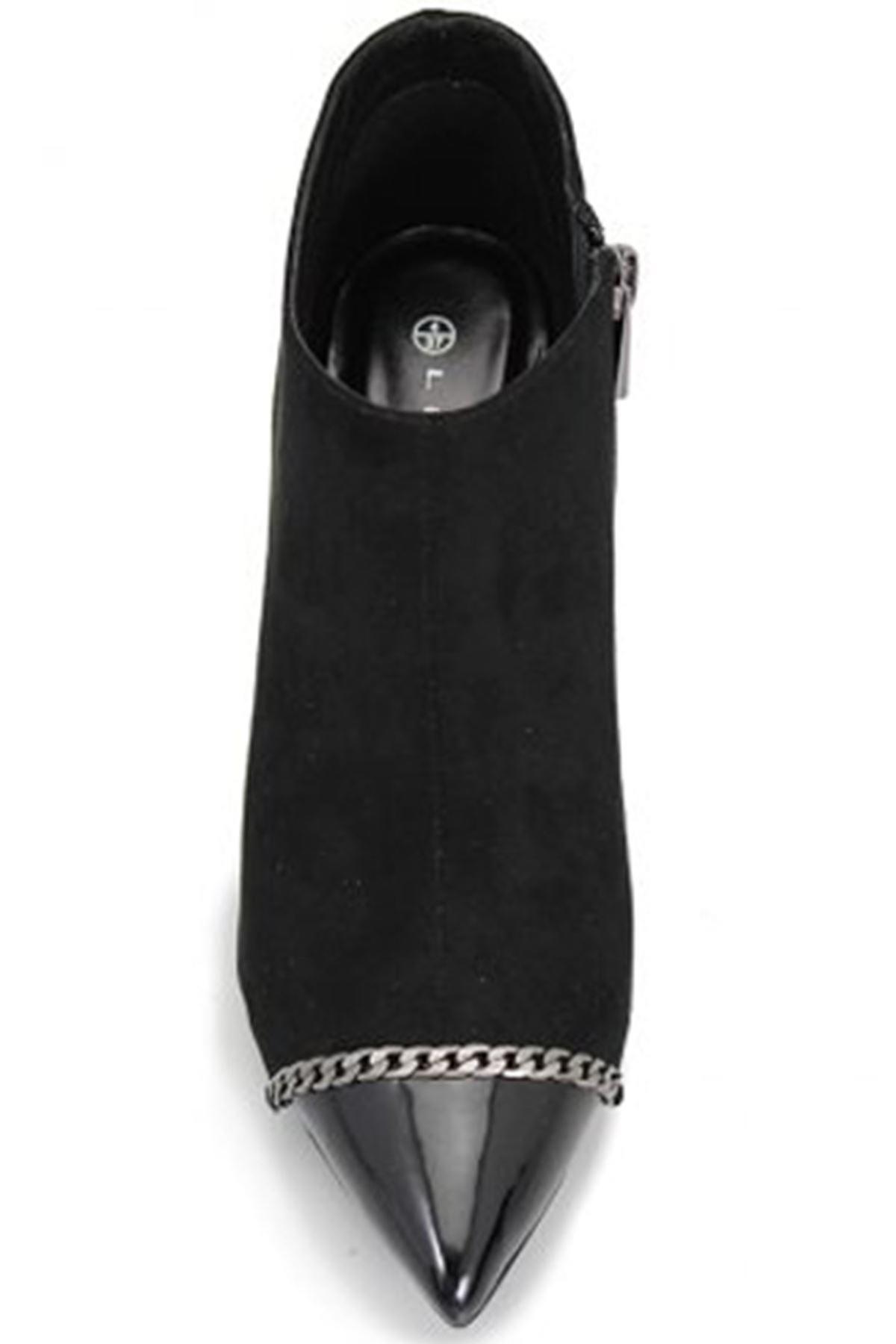 Escada Mesdames simili-Suède pantalon chaussure talons bottines embrayage sac