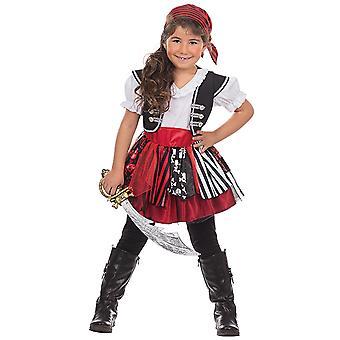 Costume da pirata pirata Bonnie per ragazze Seeräuberin