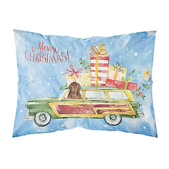 Merry Christmas Newfoundland Fabric Standard Pillowcase