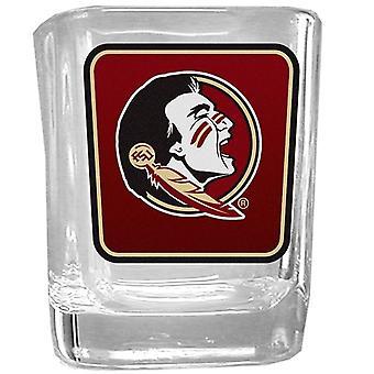 Florida de stat Seminoles NCAA logo shot de sticlă