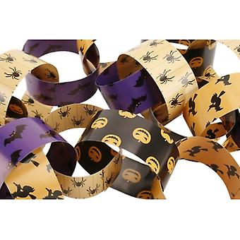 Double Sided Halloween decoratief papier kettingen