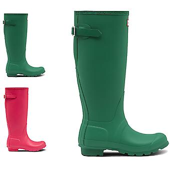 Womens Hunter Original Tall Adjustable Rubber Waterproof Wellingtons Boot
