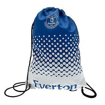 Everton FC Fade Design Drawstring Gym Bag