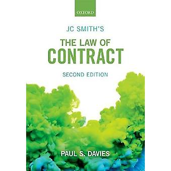JC Smith's The Law of Contract by Paul S. Davies - 9780198807810 Book