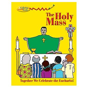 Holy Mass Col & ACT Book (New Coloring Books!)