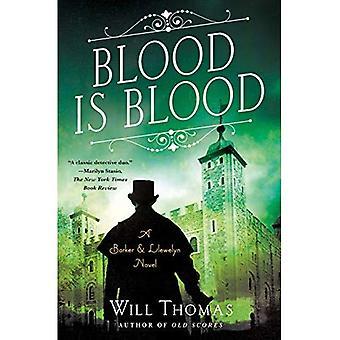 Blood Is Blood: A Barker & Llewelyn Novel (Barker &� Llewelyn Novel)