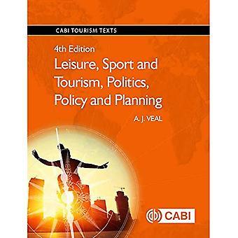 Fritid, Sport och turism, politik, politik och planering (CABI turism texter)