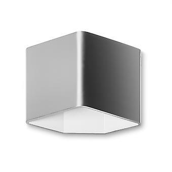 Jet seinävalaisin Harjattu alumiini - LED-C4 05-3980-S2-14