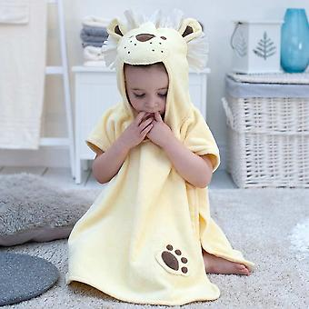 Dandy Lion toddler poncho towel