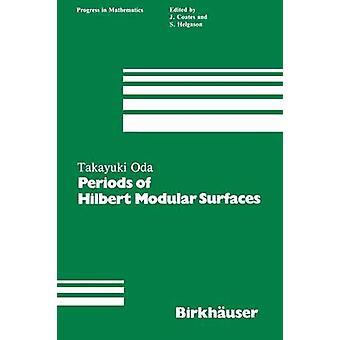 Perioder af Hilbert Modular overflader af Oda
