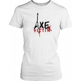 Victime Axe - Drôle Guitare Ladies T-shirt