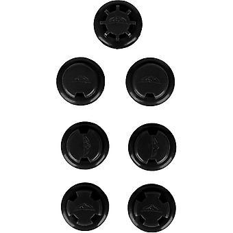 Elevation Training Mask 2.0 Flux Valves and Resistance Caps - Black