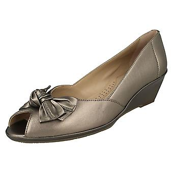 Ladies Van Dal Peep Toe Shoes Florida II