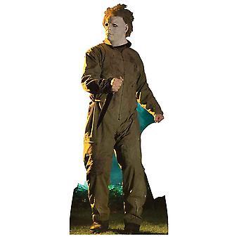 Michael Myers Halloween Stalking poza Lifesize tektury wyłącznik / Standee / Standup