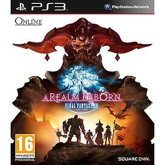Final Fantasy XIV - A Realm Reborn (PS3) - New